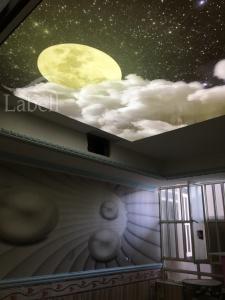 اتاق کودک سقف کشسان