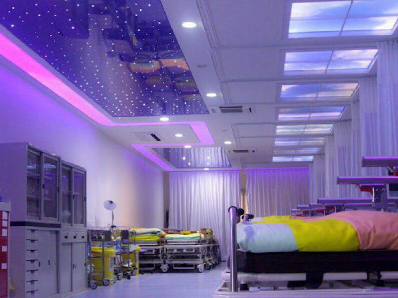 بیمارستان عرفان اجرای سقف کششی لابل (labell) در بیمارستان عرفان تهران