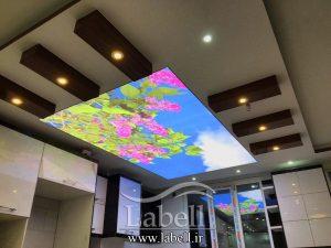 نحوه چاپ بر روی سقف های کاذب کشسان