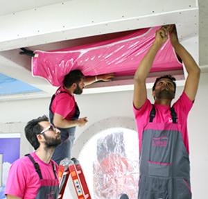برگزاری دوره های آموزش سقف کشسان