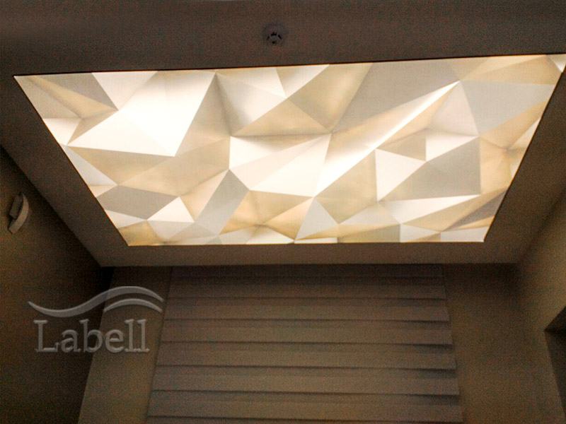 سقف کشسان با نورپردازی SMD