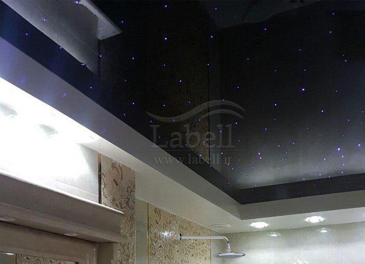 حمام و سرویس بهداشتی با سقف کشسان