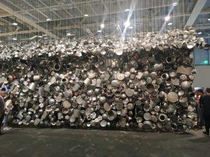 سالن پذیرایی جالب در جشنواره هنری نیویورک