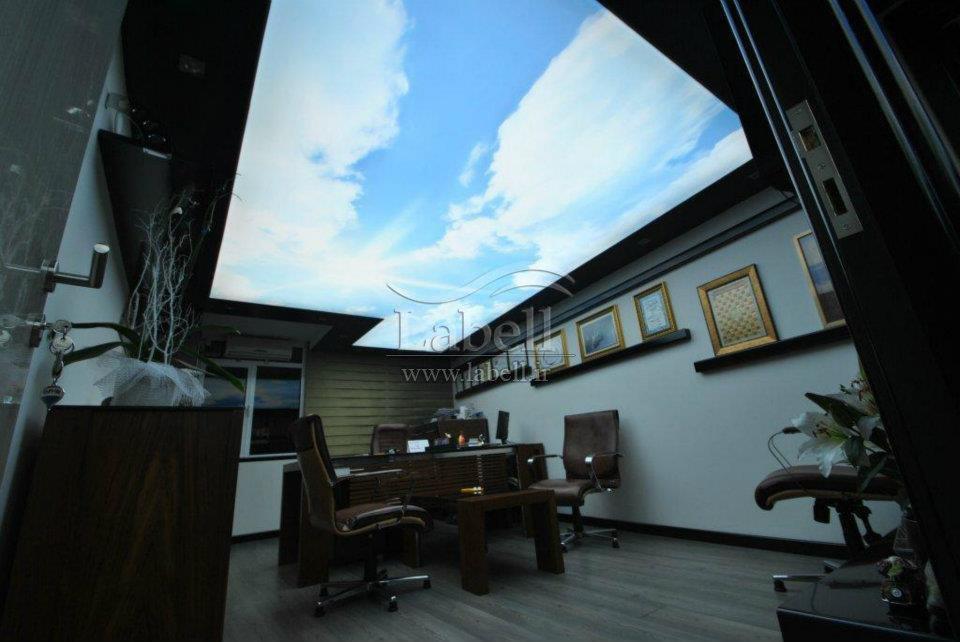 چگونه آسمان آبی را به زیر سقف خانه خود بیاوریم؟