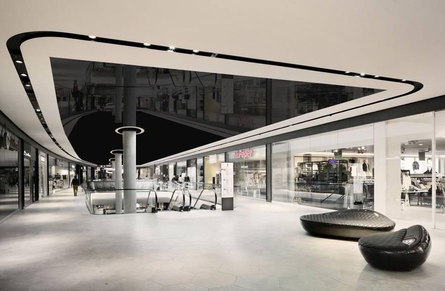 سقف کاذب در مراکز خرید