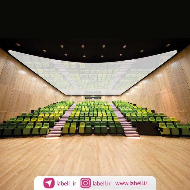 بررسی سقف ها در سالن های آمفی تئاتر