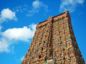 معبد رنگارنگ میناکشی هند