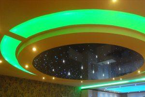 انواع نورپردازی سقف کششی : قسمت دوم