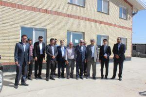 بازدید نماینده گرگان در مجلس شورای اسلامی از کارخانه لابل