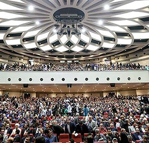 اجرای سقف لابل در بزرگترین سالن آمفی تئاتر ایران