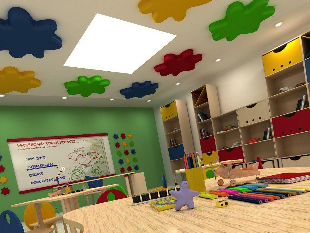 طراحی مهد کودک و اتاق کودک