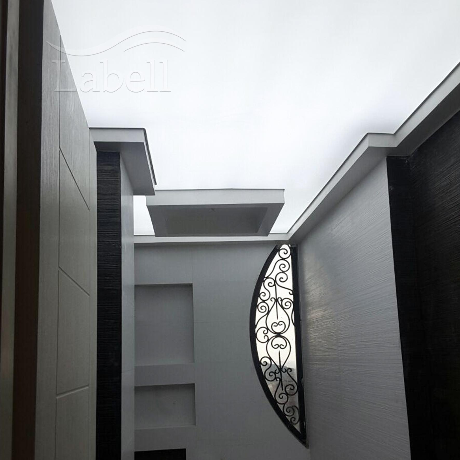 نورپردازی راهرو با استفاده از سقف کشسان ترنسپرنت