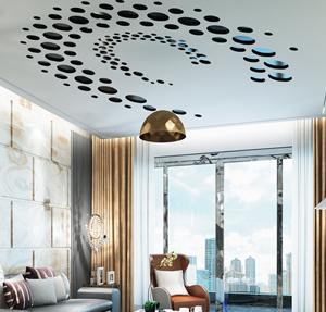 اوج خلاقیت خود را با سقف اپلای لابل نشان دهید!