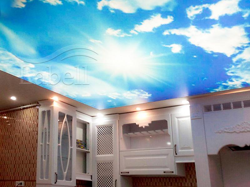 رنگ چاپ روی سقف کششی و کاغذ