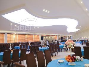 سقف کشسان در دکوراسیون داخلی هتل ها