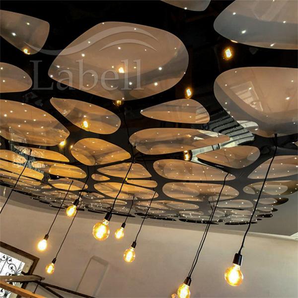 سقف کششی لابل