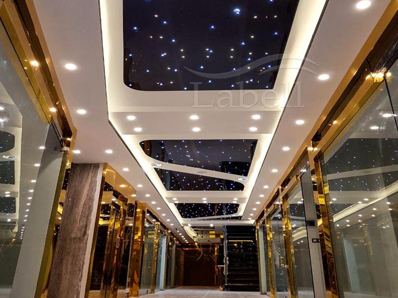 سقف کشسان لابل مجتمع اردکانی شاهرود
