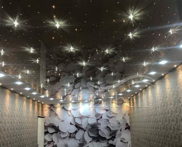 سقف کشسان لابل