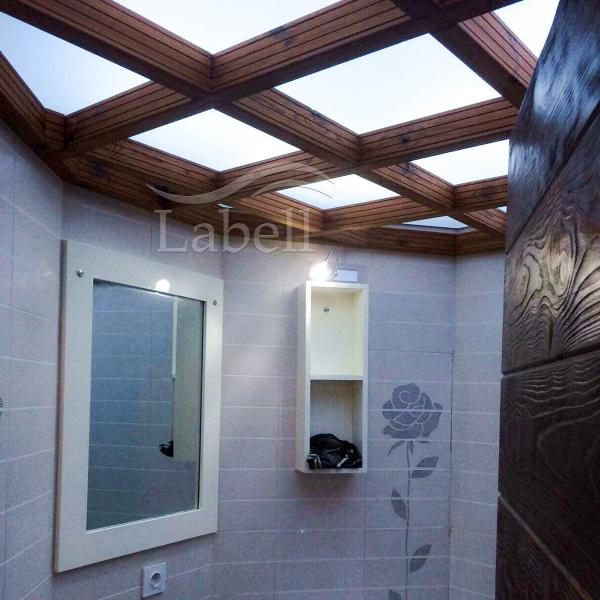 سقف لابل در سرویس بهداشتی
