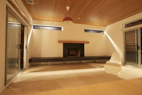 سقف چوبی در خانه ها