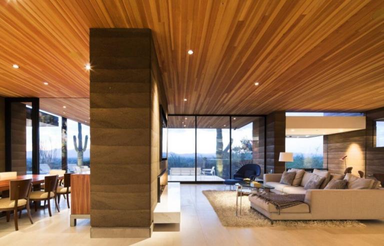 سقف کشسان چوبی
