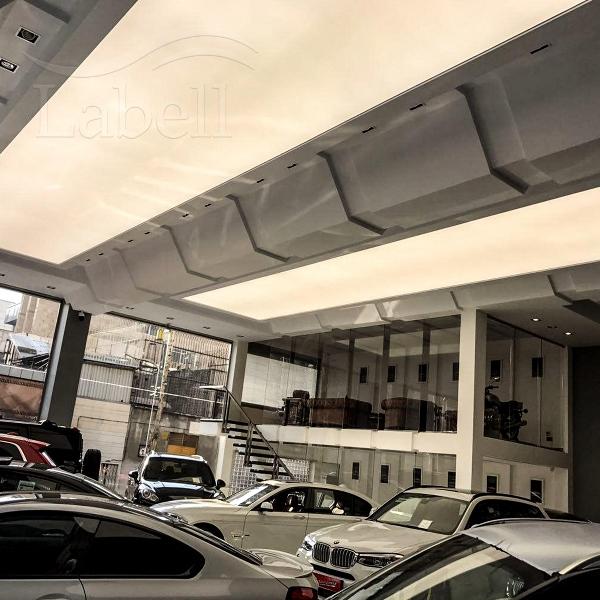 سقف کشسان در نمایشگاه اتومبیل