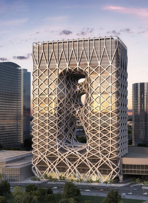 برج هتل شهر رویاها - زاها حدید