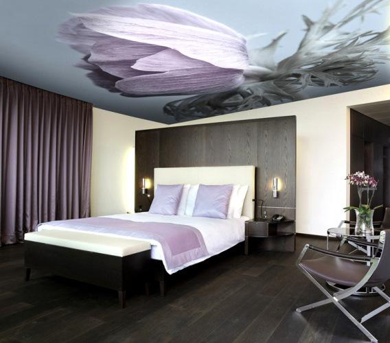سقف سه بعدی گل