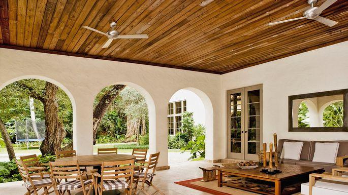 سقف چوبی جدید