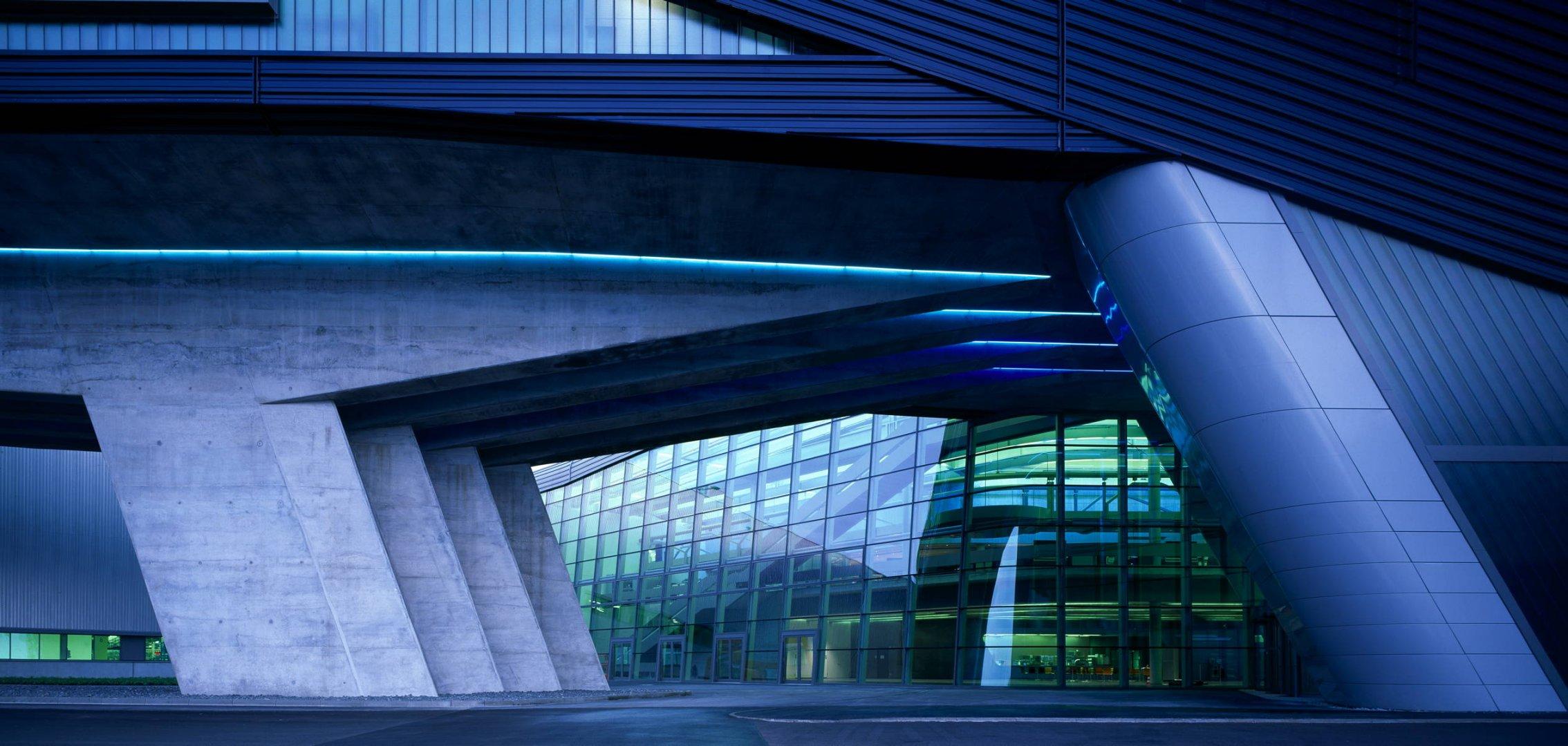 طراحی ساختمان مرکزی BMW