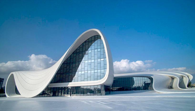 زنان برجسته دنیا معماری مرکز فرهنگی آذربایجان