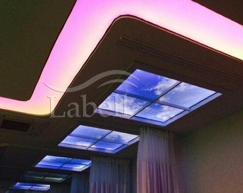 سقف کشسان لابل در پروژه های ساختمانی بزرگ