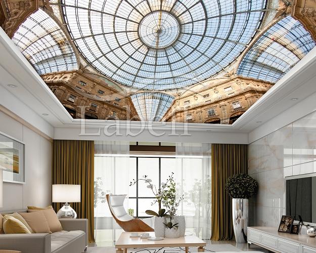 سقف چاپی منزل مسکونی نشیمن حداقل و حداکثر میزان استفاده از سقف کشسان در یک محیط چقدر است