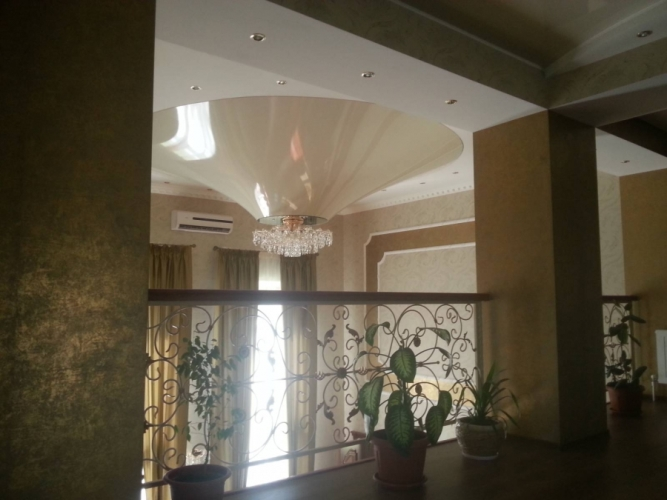 سقف کشسان حجمی قابلیت های نامحدود سقف کشسان حجمی