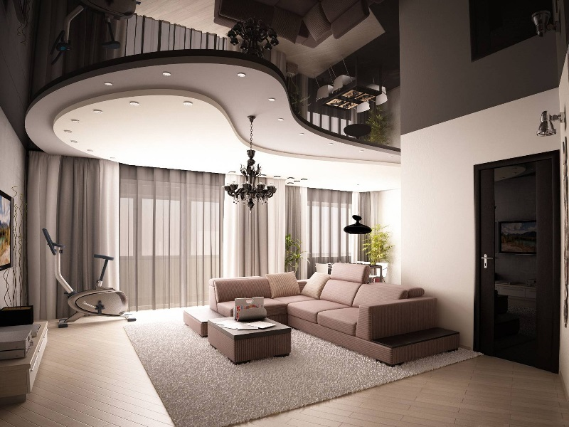 ایده های ناب برای نصب سقف کشسان در منزل