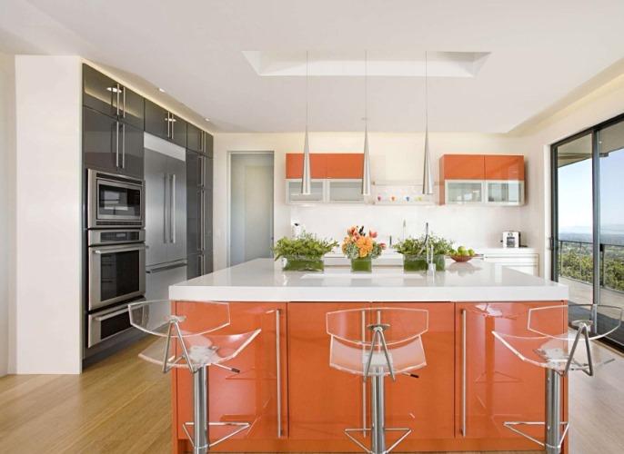 چطور از رنگ نارنجی در دکوراسیون منزل استفاده کنیم