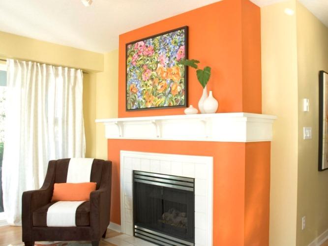 چگونه از رنگ نارنجی در دکوراسیون منزل استفاده کنیم