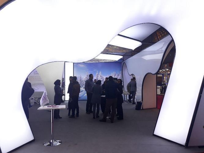غرفه لابل در نمایشگاه ها
