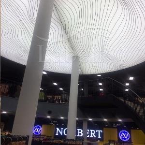 سقف کشسان لابل در تله کابین رامسر