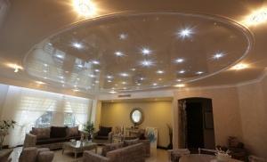 کاغذ دیواری ، نصب کاغذ دیواری در سقف