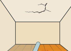 ترک خوردگی سقف