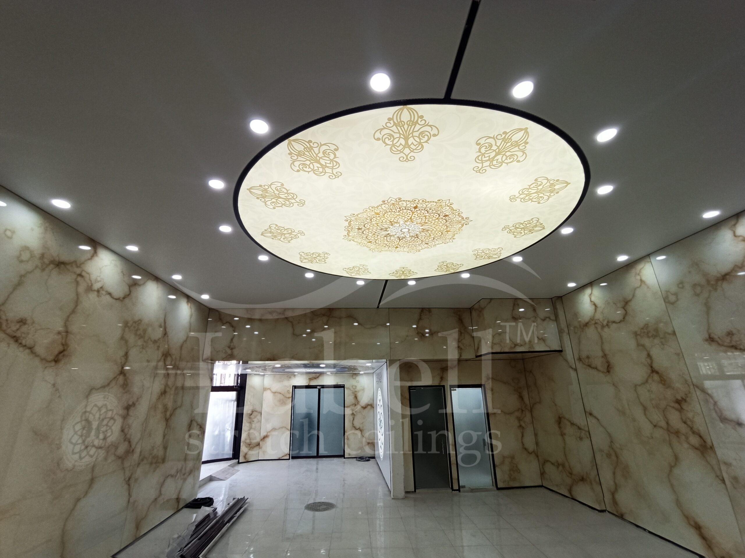 سقف کشسان بیمارستان 15 خرداد