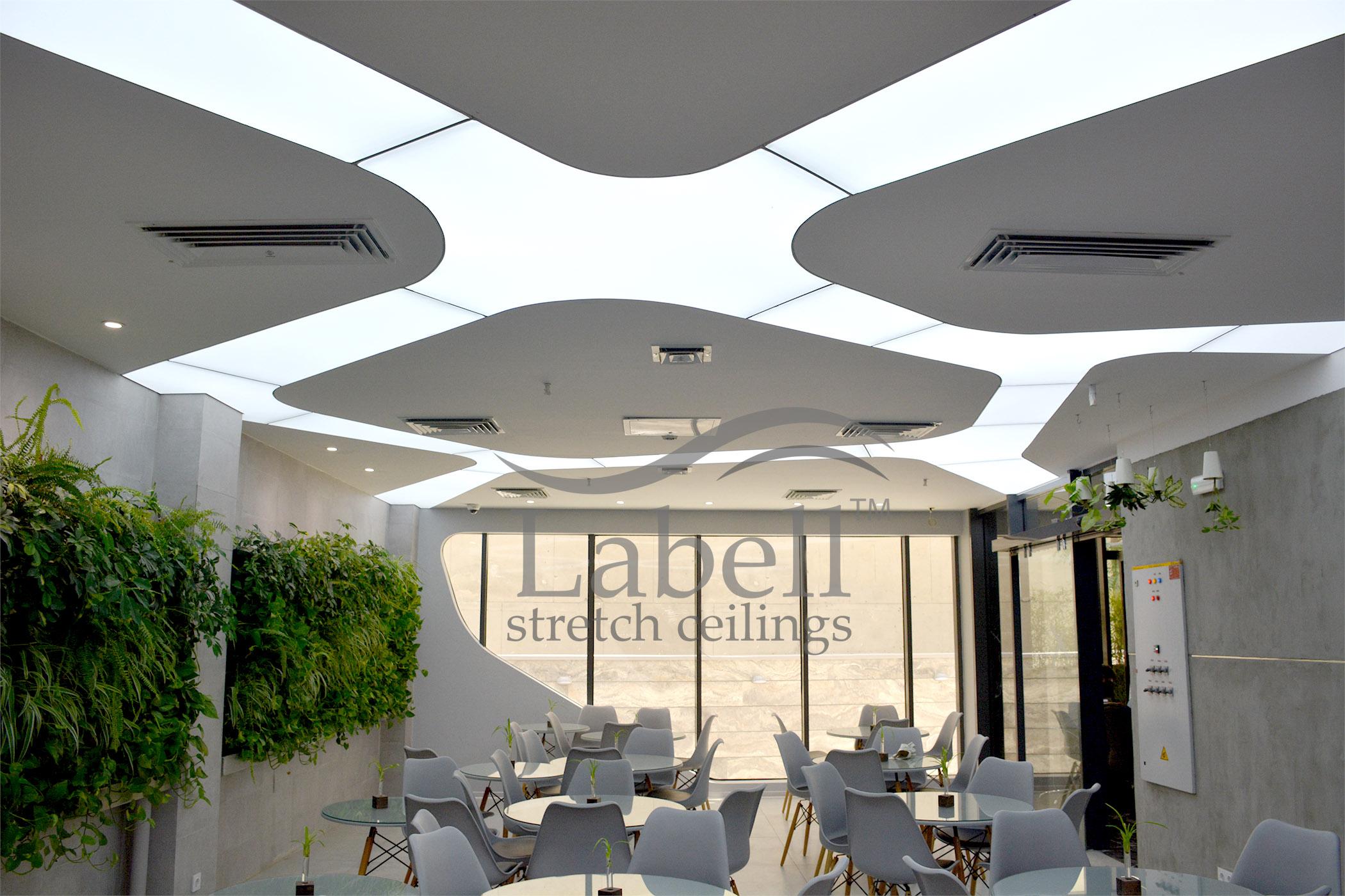 سقف کشسان لابل در شرکت شاتل
