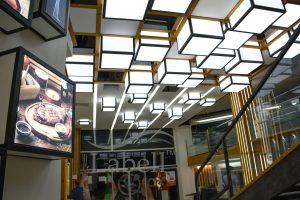 باکس نوری سقف کشسان