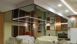 تلفیق سقف لاکر با سقف ترنسپرنت