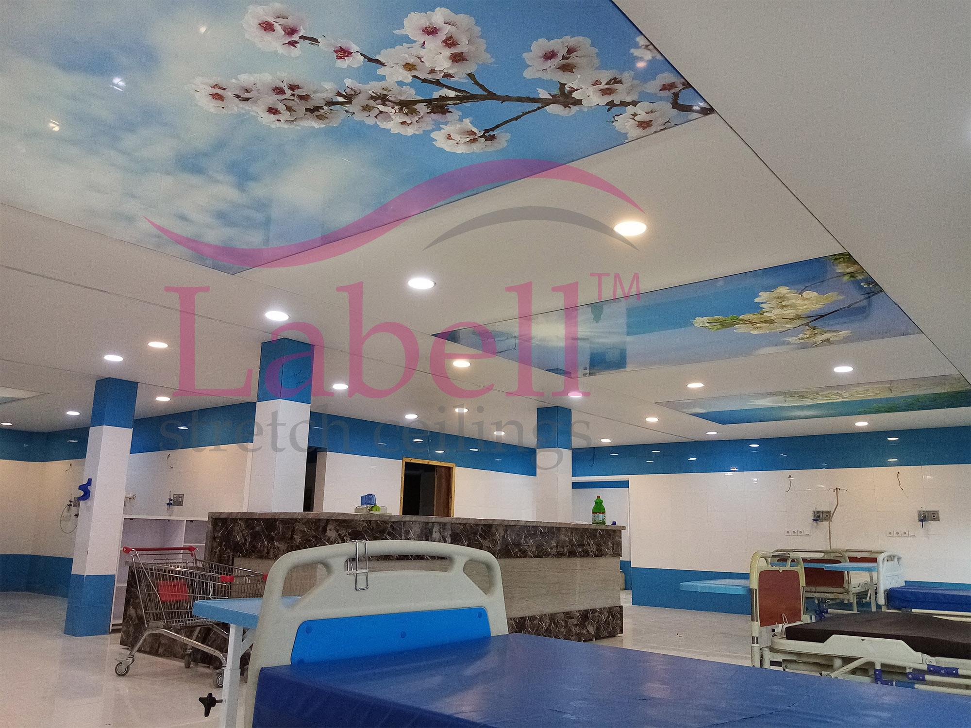 سقف کشسان لابل در بیمارستان ها